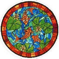 mosaic koi fish patterns - Google Search