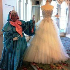 Resultado de imagen de Fairy Godmother doing the bridal dress