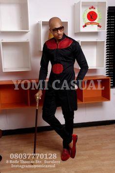 Yomi Casuals' The Redefined Man Lookbook - December 2013 - BellaNaija - 039