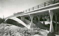Arve Bridge, Vessy. associated engineer. Robert Maillart