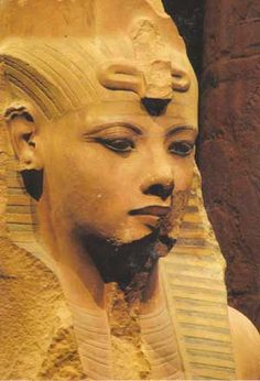 Colossal statue of King Tut - Susan Demeter-St.Clair