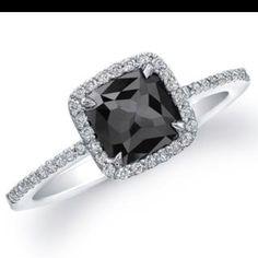 black diamond ring; really want!