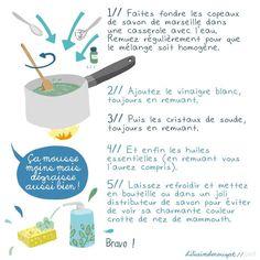 Recette du liquide vaisselle maison - Liliaimelenougat - blog BD et bébé - blog maman et de fille - de l'illustration, de l'écologie et de l'humour
