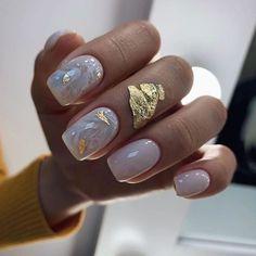 Stylish Nails, Trendy Nails, Cute Nails, Nail Manicure, Gel Nails, Nagellack Design, Classic Nails, Luxury Nails, Neutral Nails