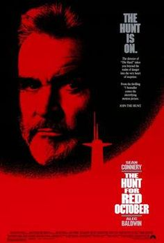 1990 The Hunt for Red October..most males would enjoy this...stars Sean Connery (I'm a fan) and based on the Tom Clancy novel by the same name