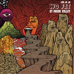 Recorded live in Netphen, Germany at the 2014 Freak Valley Festival, Live Juju: Wo Fat at Freak Valley is Wo Fat's sixth full length album and the first live album in their catalog. Their appearance at Freak Valley was one of the highlights of their very successful Texas Takeover European Tour and this record shows off the band's brand of jazz-minded, psychedelic stoner metal live in action.  Click here to listen to the full album