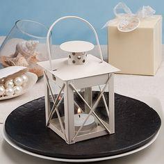 Love Lights The Way Metal Luminous Lanterns Ivory - 4149