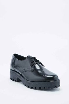 Out From Under Jilted Lace-Up Shoes in Black - Urban Outfitters