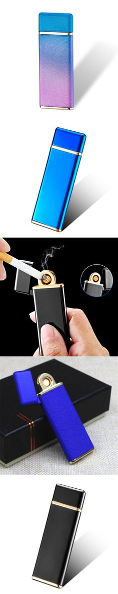 mini metal portable usb  lighter,can be pack into cigarette case
