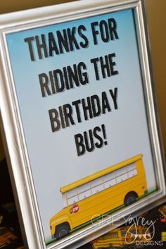 Wheels on the Bus Party | CatchMyParty.com