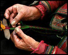 Weaving - Chinchero, Peru