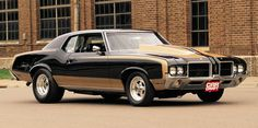 Oldsmobile Cutlass Supreme, Oldsmobile 442, 70s Muscle Cars, American Muscle Cars, Classic Cars Usa, Chevy Ssr, Drag Cars, Cool Cars, Vintage