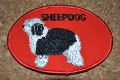 Sheepdog Vintage Patch. $3.00, via Etsy.