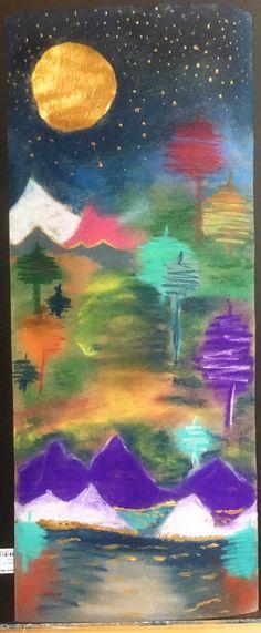 Portfolio, Night, Painting, Art, Art Background, Painting Art, Kunst, Paintings, Performing Arts