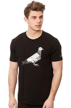 The JS x Staple Pigeon Tee in Black via karmaloop.com