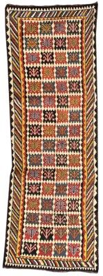 GABBEH RUNNER SOUTH PERSIA, CIRCA 1880 11ft.1in. x 3ft.8in. (337cm. x 112cm.) I Christie's Sale 7039