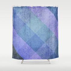 #society6 #showercurtain #purple #blue #pattern