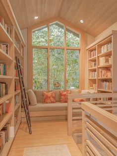 Cozy Home Library, Home Library Rooms, Home Library Design, Home Design, Interior Design, Library Ideas, Small Home Libraries, Design Ideas, Design Design