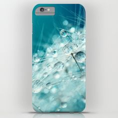 Dandy Starburst in Blue iPhone & iPod Case