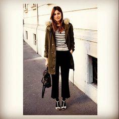 coat, stripes, ps1, shoes