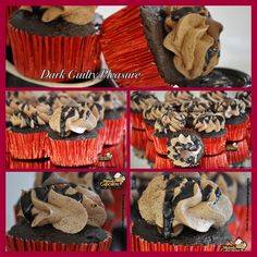 Dark Guilty Pleasure!! Chocolate Anyone? #Dark #chocolate #fudge #buttercream #morsels #moist #dessert #delicious