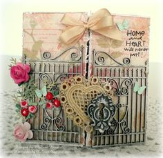 Splitcoaststampers FOOGallery - Love lives Here *A {real} gate card*