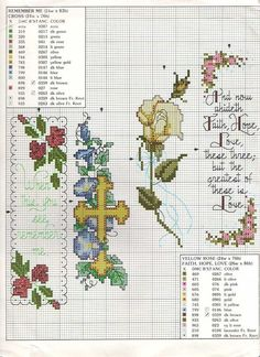 Cross-stitch Bookmarks... Solo Patrones Punto Cruz | Aprender manualidades es facilisimo.com