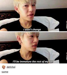 SAME. | B.A.P Daehyun