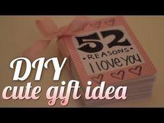 DIY Valentines Gift For My Boyfriend - YouTube