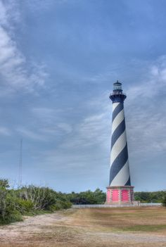 HDR Cape Hatteras lighthouse1 by Kevin King, via 500px.