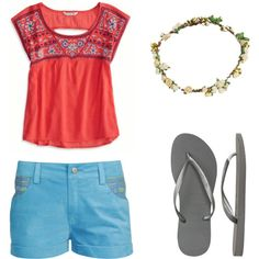 """Inspired by Mamma Mia! movie Look 3"" by jessicassbsb on Polyvore"