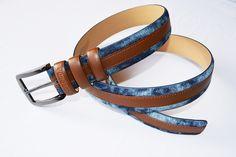 Streetwise, ein Gürtel aus Jeans und echtem Leder gefertigt. Belt, Jeans, Bracelets, Accessories, Jewelry, Fashion, Fashion Jewelry, Scarves, Handbags