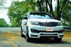 [ชุดแต่ง] API : *Bodykits* TOYOTA FORTUNER A-I 2012 #ชุดแต่ง #ชุดแต่งรถยนต์ #APIAccessories #car #bodykits #ฟอร์จูนเนอร์ #skirtcar #FORTUNER #chooseyourlifestyle www.facebook.com/... apiaccessories.com