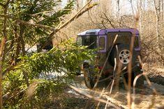 Выезд клубных Land Rover Defender на трофи рейд по Гжатскому тракту