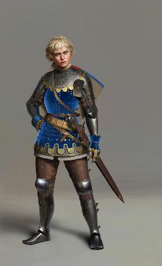 ArtStation - The Strongest Champion, Un Lee Fantasy Warrior, Fantasy Rpg, Medieval Fantasy, Character Concept, Character Art, Character Design, Concept Art, Character Ideas, D D Characters