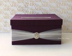 Wedding card box, Wedding Money Box - Custom Made to Order