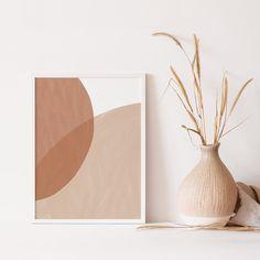 Abstract Geometric Printable Wall Art Digital Print Neutral | Etsy Abstract Canvas, Abstract Print, Abstract Posters, Rainbow Art, Printable Wall Art, Wall Art Prints, Digital Prints, Neutral, Boho Decor