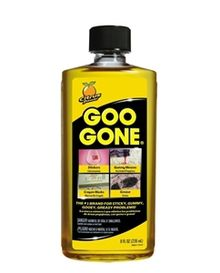 Goo Gone Quita la goma de mascar, grasa, alquitrán, pegatinas, etiquetas, restos de cinta adhesiva, aceite, sangre, lápiz labial y rimel, betún para zapatos, lápices de colores, pegatinas funciona en las alfombras