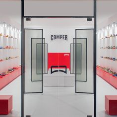 Camper Retail Installation by ECAL, Milan
