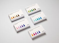 """Packaging for John Lewis by Charlie Smith Design """"Packaging for a range of incense sticks and cones. Each set included five different fragrances, so we illustrated the sticks and cones in different colours to show the variety of fragrances within..."""