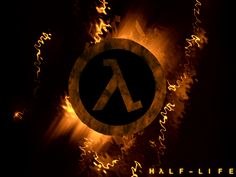 Just a quick wallpaper i made tonight of the Half-Life logo lambda, the sign of the resistance. Half Life Game, Life Logo, Life Video, Best Games, Wallpaper Desktop, Wallpapers, Deviantart, Aperture, Portal