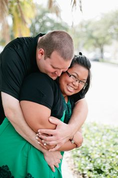 {Real Curvy Engagement} Surprise Engagement Session in Florida | Captured In His Image Photography