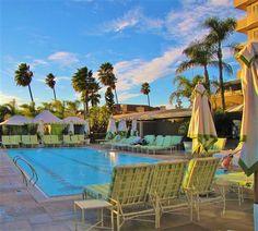 Glam pool, Four Seasons Los Angeles