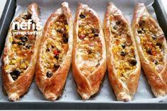 10 Dakikada Kahvaltı Pideleri Tarifi