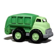 Recycling truck made of #eco-friendly materials... Talk about a #green toy!