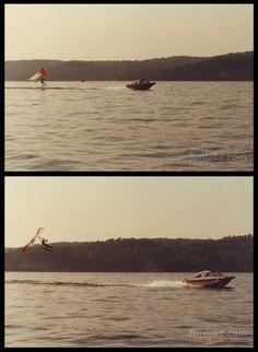 Water ski hang gliding anyone?