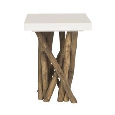 """Island Branches End Table 