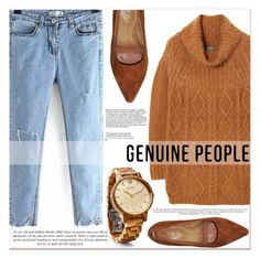 """""""# III/5 Genuine people"""" by lucky-1990 ❤ liked on Polyvore"""