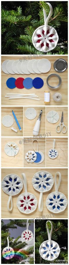 Teach you how to make a felt small ornaments, very studious, very cute ~~--for more interesting content, please pay attention to @ beautiful creative DIY