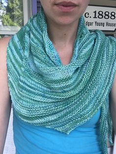 The Rhythm Shawl is a large lightweight asymmetrical shawl. This one hit wonder uses one skein of 464 yards of fingering or sock weight yarn, Rhythm shawl is The Allegro shawl's textured brother.